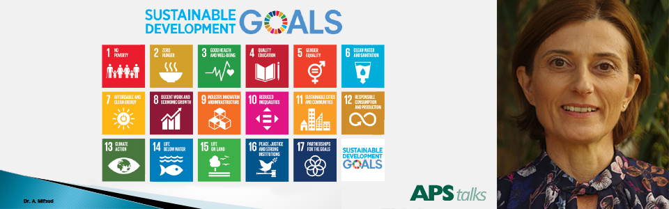 The Sustainable Development Goals discussed during the latest APS talk