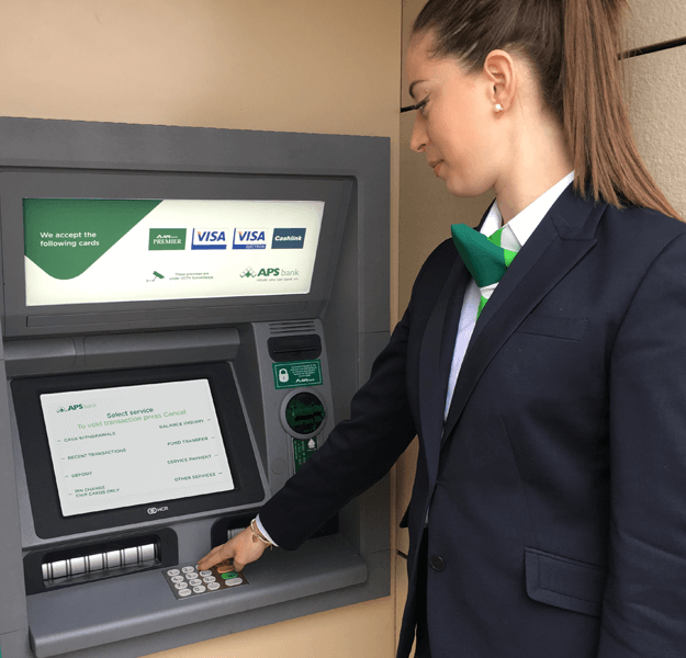 APS ATM Screens - New look