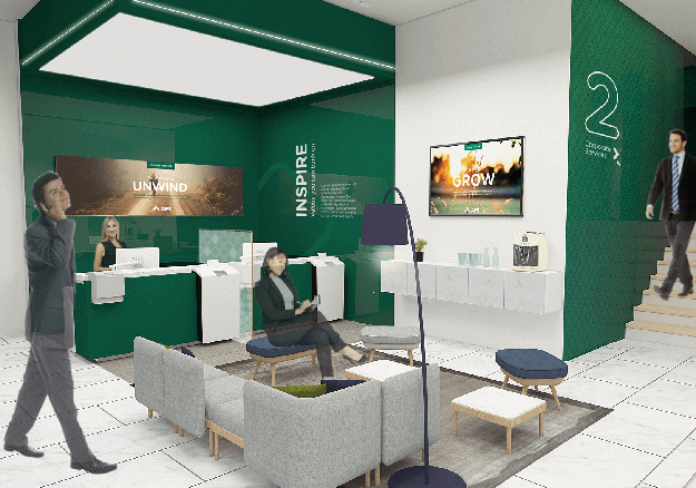 New APS Bank branches - Sliema