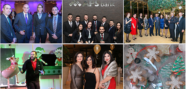APS Bank's Christmas celebrations are an annual highlight for both staff and clients