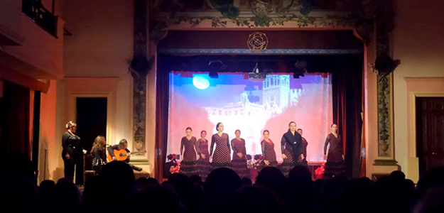 Promesas Flamenco performance at Teatru Salesjan