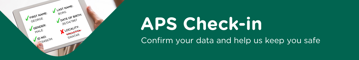 APS Check-in