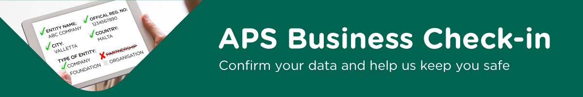 APS Business Check-in
