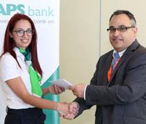 APS Bank values and rewards staff suggestions