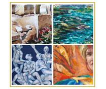 New APS publication features local paintings by intergenerational artists