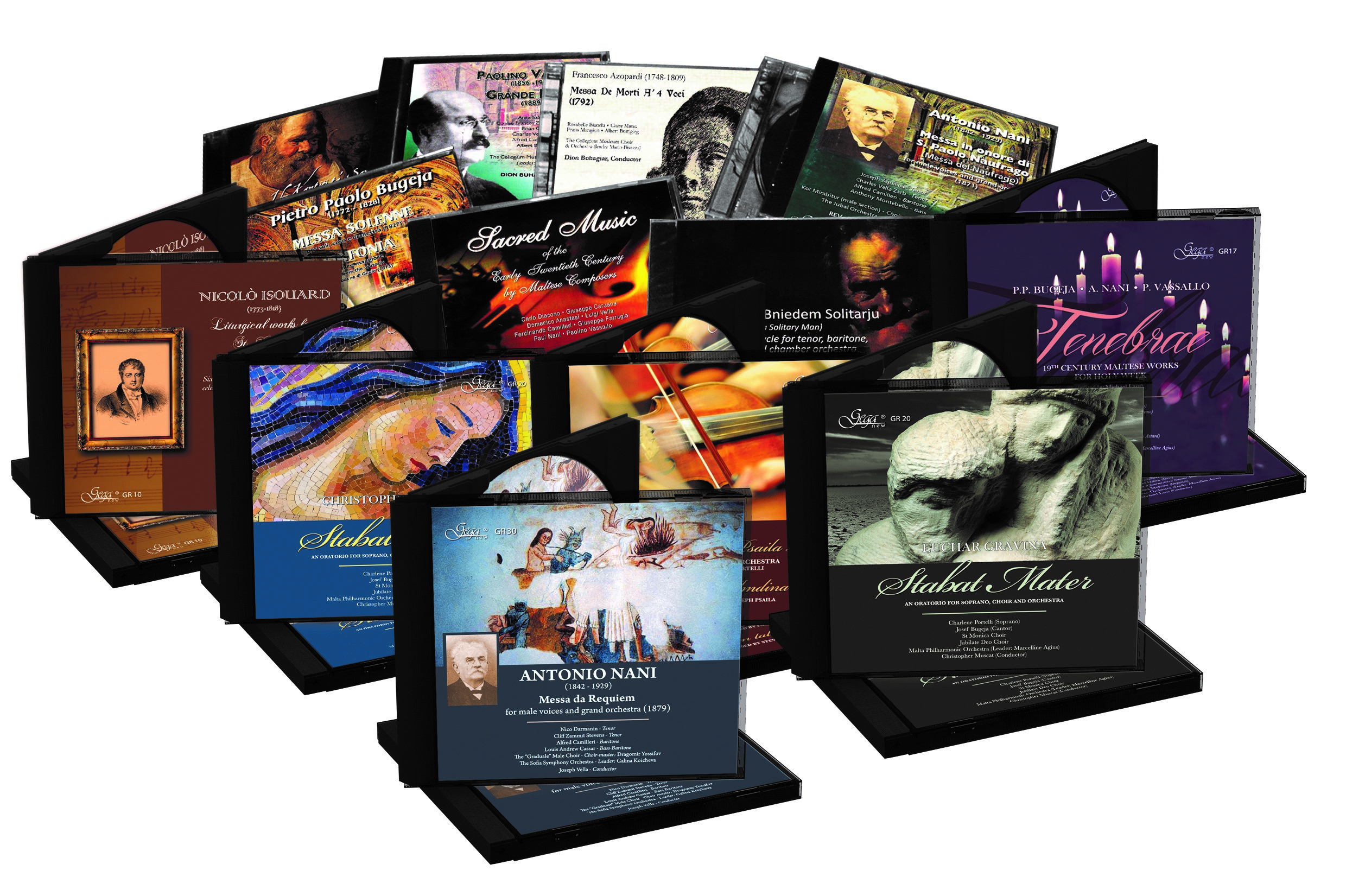 APS Bank Sacred Music CDs