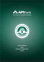 APS Bank Annual Report 2010